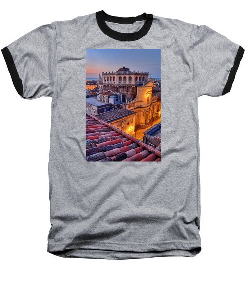 Convento Di San Giuliano Baseball T-Shirt by Robert Charity