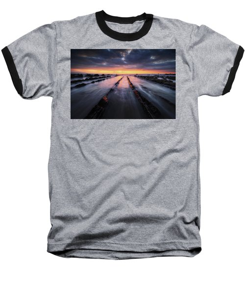 Converging To The Light Baseball T-Shirt