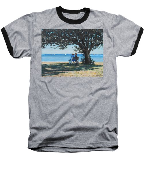 Conversation In The Park Baseball T-Shirt