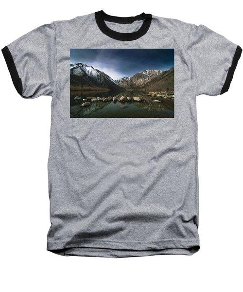 Convict Lake Baseball T-Shirt by Ralph Vazquez