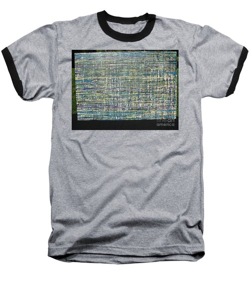 Baseball T-Shirt featuring the painting Convoluted by Jacqueline Athmann