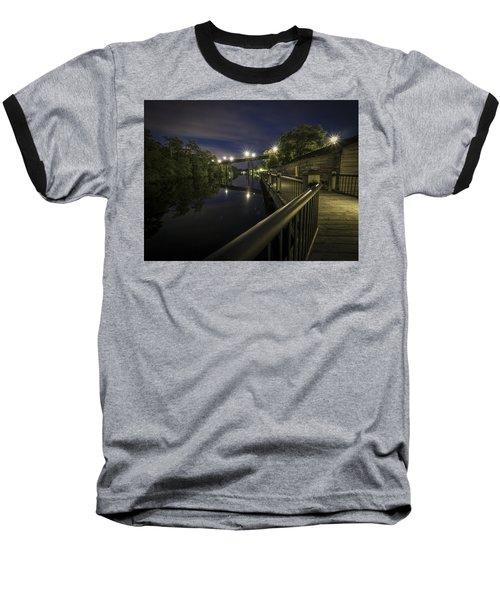 Conway Riverwalk Morning Baseball T-Shirt