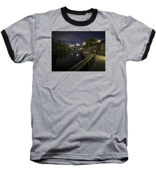 Conway Riverwalk Morning Baseball T-Shirt