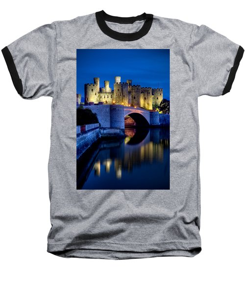 Conwy Castle Baseball T-Shirt