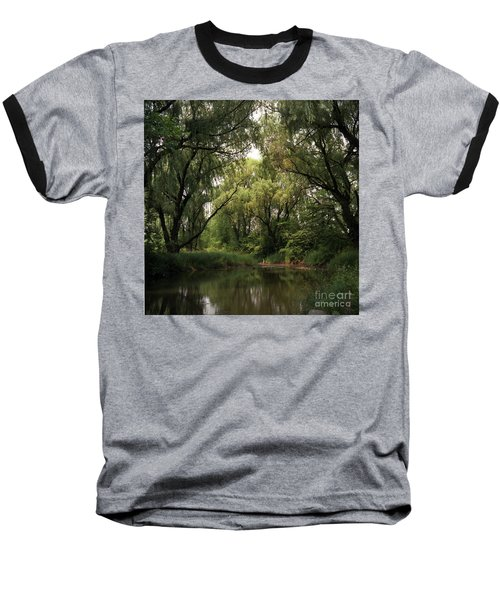 Cook County Forest Preserve No 6 Baseball T-Shirt by Kathy McClure