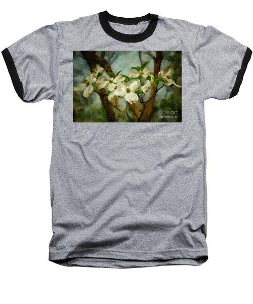Cool Breeze Painterly Baseball T-Shirt