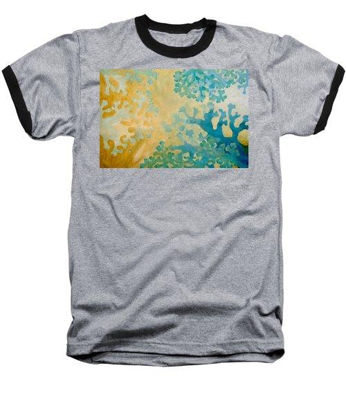Cool Coral Baseball T-Shirt by Dina Dargo