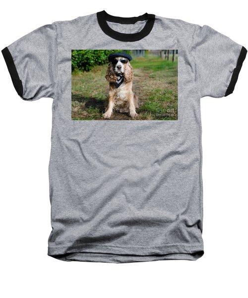 Cool Dog Baseball T-Shirt