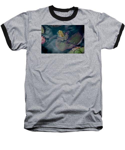 Cool Frog-hot Day Baseball T-Shirt