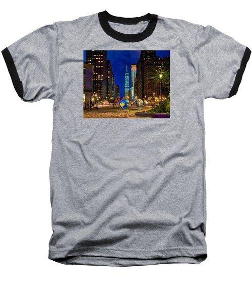 Cool Globes Baseball T-Shirt