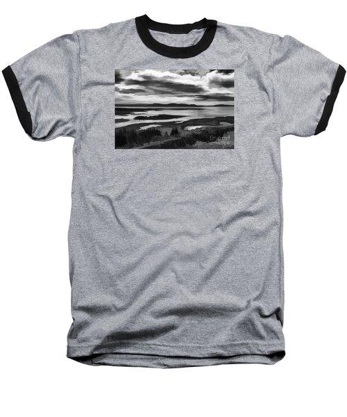 Cool Lakes Iceland Baseball T-Shirt