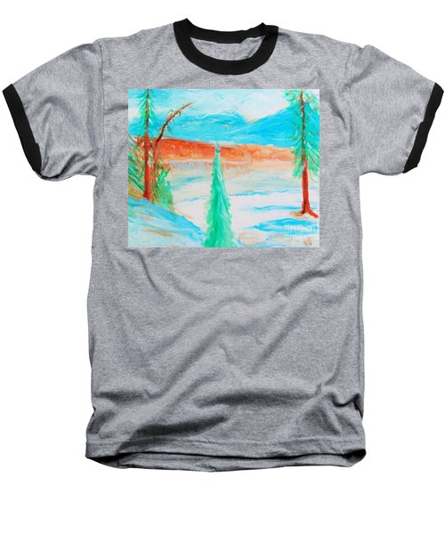 Cool Landscape Baseball T-Shirt
