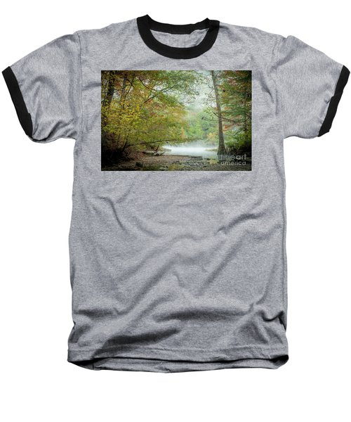 Cool Morning Baseball T-Shirt by Iris Greenwell