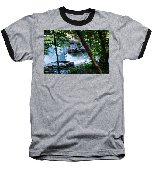 Cool Mountain Stream Baseball T-Shirt