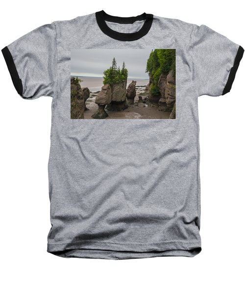 Cool Rocks Baseball T-Shirt by Will Burlingham