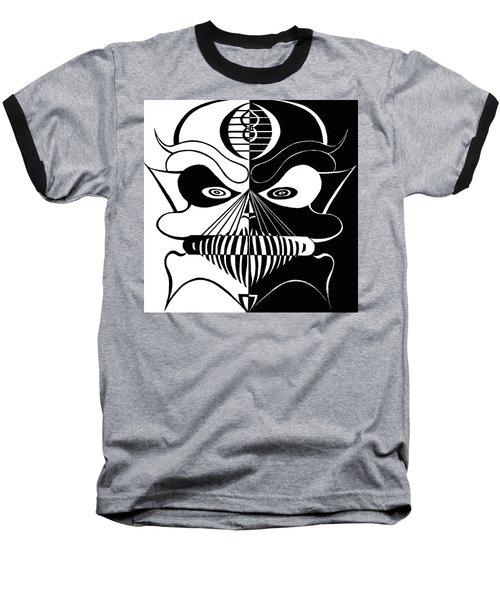 Cool Skull Baseball T-Shirt