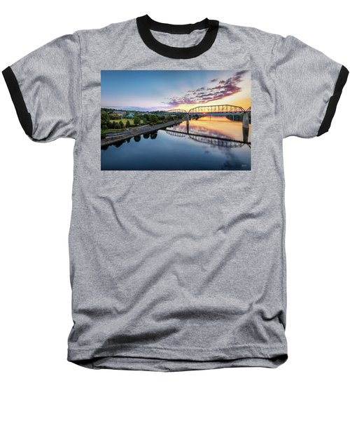 Coolidge Park Sunrise Baseball T-Shirt