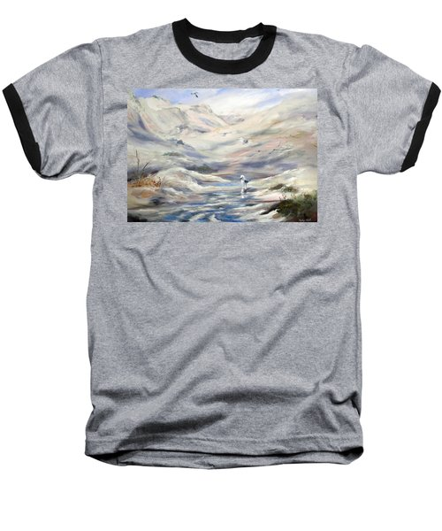 Coorong, South Australia. Baseball T-Shirt