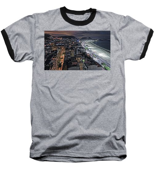 Copacabana Lights Baseball T-Shirt
