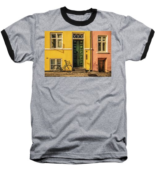 Copenhagen Transportation Baseball T-Shirt