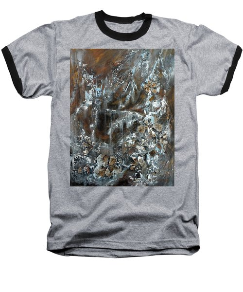 Copper And Mica Baseball T-Shirt by Joanne Smoley