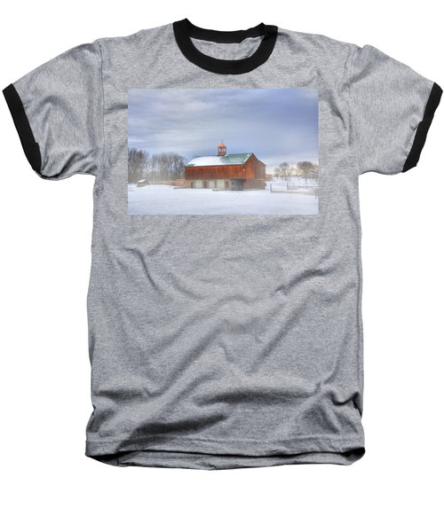 Baseball T-Shirt featuring the digital art Copper Cupola by Sharon Batdorf