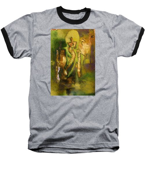 Copper Hair Baseball T-Shirt