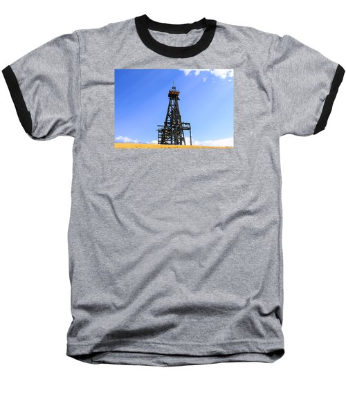 Copper Mine In Montana Baseball T-Shirt by Chris Smith