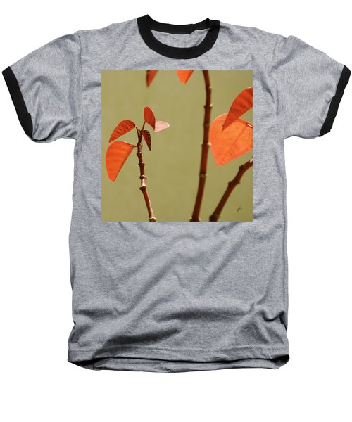 Baseball T-Shirt featuring the photograph Copper Plant 2 by Ben and Raisa Gertsberg