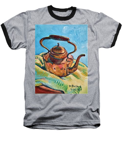 Copper Teapot Baseball T-Shirt