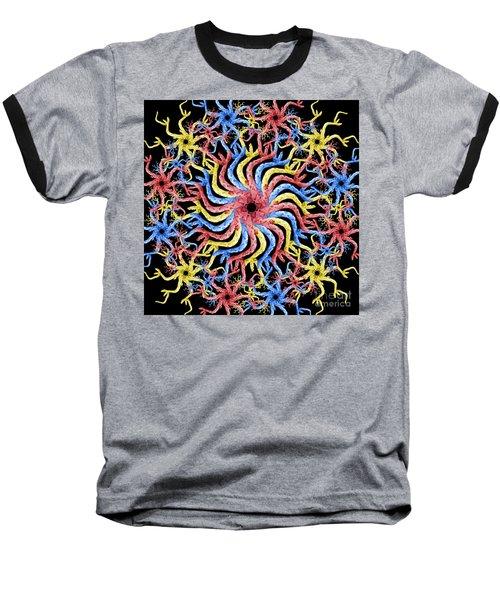 Baseball T-Shirt featuring the photograph Copperhead Mandala by Brian Jones