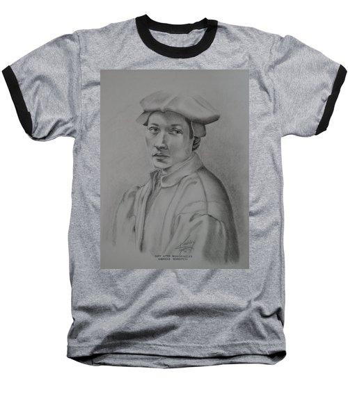Copy After Michelangelo's Andreas Quaratesi Baseball T-Shirt