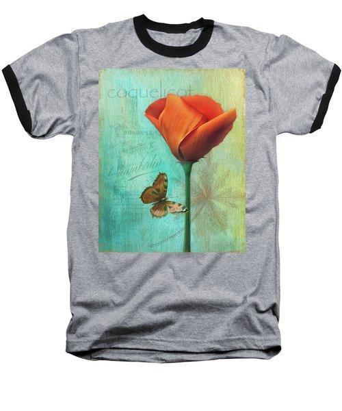 Coquelicot Baseball T-Shirt