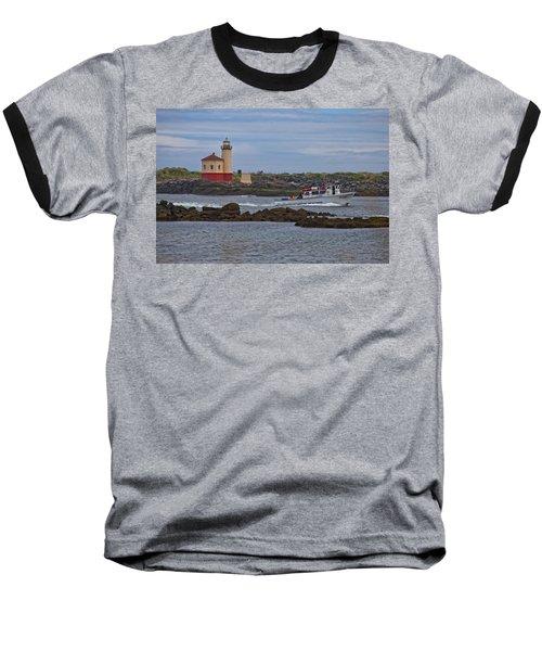 Coquille River Light Baseball T-Shirt