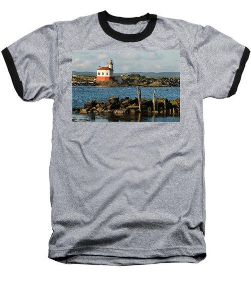Coquille River Lighthouse Bandon Oregon Baseball T-Shirt