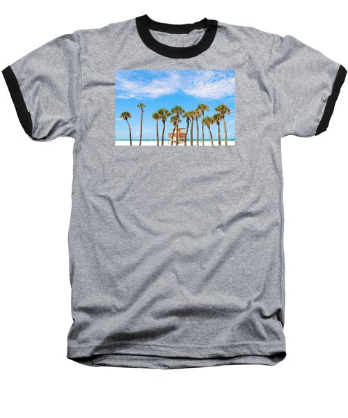 Coquina Beach Anna Maria Island Baseball T-Shirt