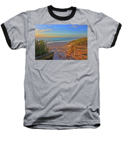 Coquina Beach By H H Photography Of Florida  Baseball T-Shirt