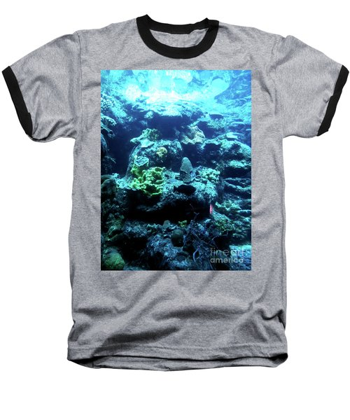 Baseball T-Shirt featuring the photograph Coral Art 4 by Francesca Mackenney