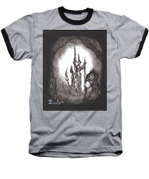 Coral Castle Baseball T-Shirt