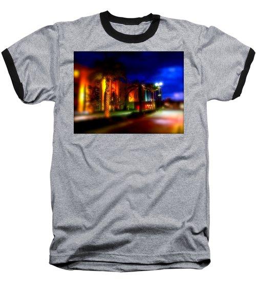 Coral Color Florida Baseball T-Shirt