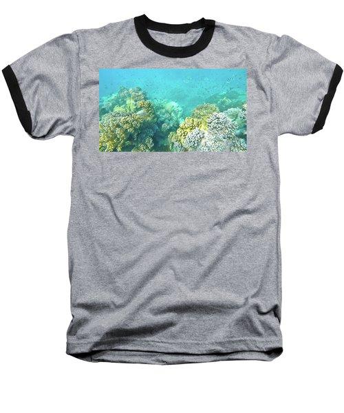 Coral Baseball T-Shirt