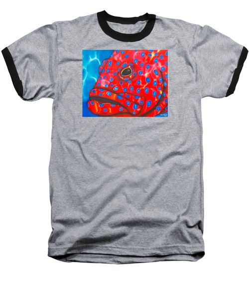 Coral Groupper II Baseball T-Shirt
