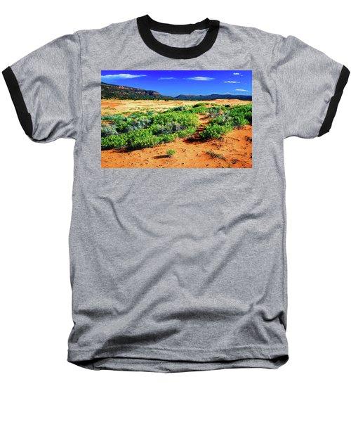Coral Pink Sand Dunes Baseball T-Shirt