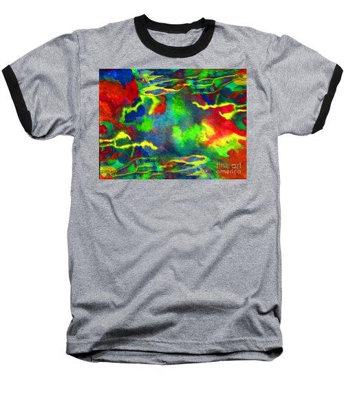 Coral Tides Baseball T-Shirt