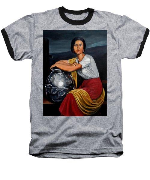 Cordobesa En La Fuente  Baseball T-Shirt