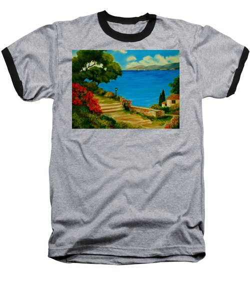 Corfu-greece Baseball T-Shirt