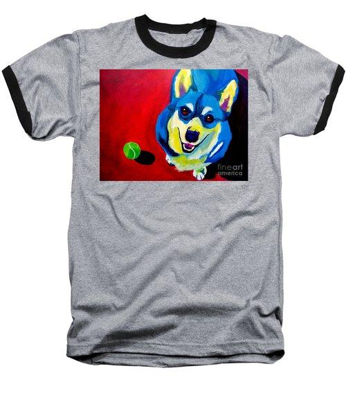 Corgi - Play Ball Baseball T-Shirt