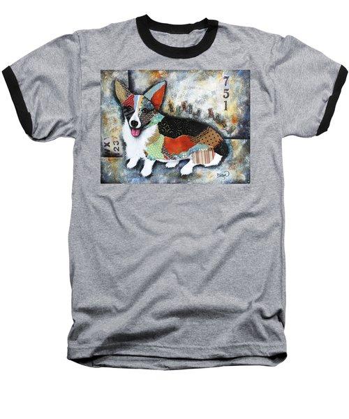 Corgi 2 Baseball T-Shirt