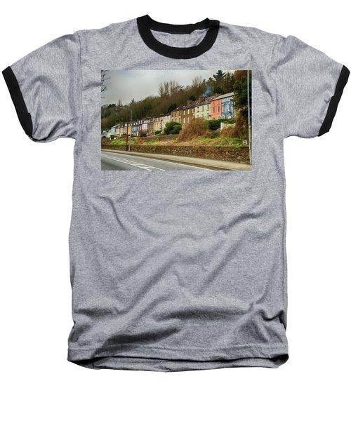 Cork Row Houses Baseball T-Shirt