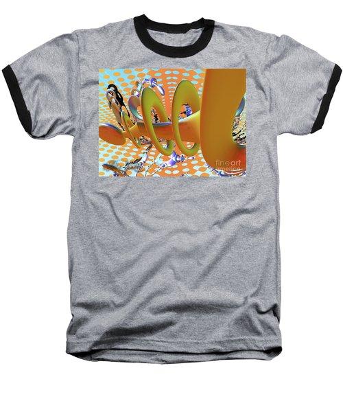 Corkscrew Baseball T-Shirt by Melissa Messick